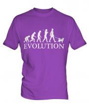 Shiba Inu Evolution Mens T-Shirt
