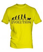 Siberian Husky Evolution Mens T-Shirt