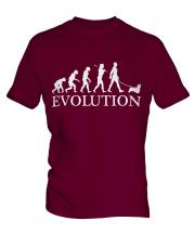 Silky Terrier Evolution Mens T-Shirt