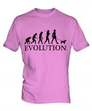 Fox Terrier Evolution Mens T-Shirt