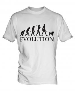 Poodle Evolution Mens T-Shirt