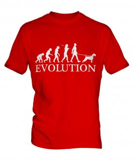 Schnauzer Evolution Mens T-Shirt