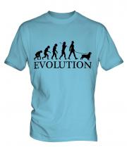 Sussex Spaniel Evolution Mens T-Shirt