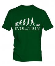Tibetan Spaniel Evolution Mens T-Shirt