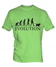 Tibetan Terrier Evolution Mens T-Shirt