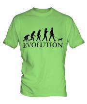 Toy Manchester Terrier Evolution Mens T-Shirt