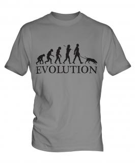 Weimaraner Evolution Mens T-Shirt