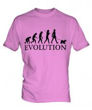 Welsh Terrier Evolution Mens T-Shirt