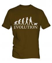 Welsh Terrier Evolution Mens T-Shirt