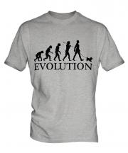 Yorkshire Terrier Evolution Mens T-Shirt