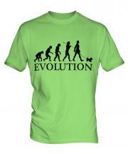 Yorkshire Terrier Evolution Mens T-Shirt