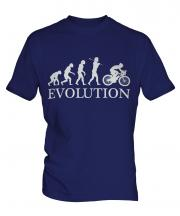 Cyclist Evolution Mens T-Shirt