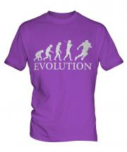 American Footballer Evolution Mens T-Shirt