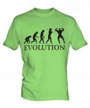 Bodybuilder Evolution Mens T-Shirt