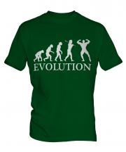 Bodybuilder Evolution Mens T-Shirt