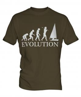Sailing Evolution Mens T-Shirt