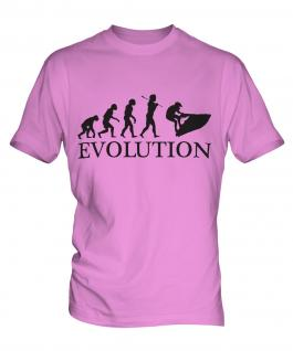 Jetski Evolution Mens T-Shirt