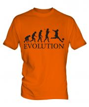 Footballer Evolution Mens T-Shirt