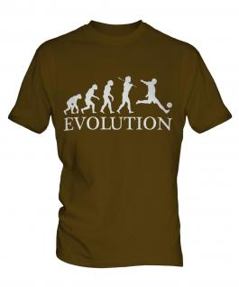 Footballer Evolution Mens T-Shirt