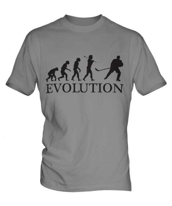 Ice Hockey Evolution Mens T-Shirt