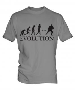 Ice Hockey Evolution Mens T-Shirt