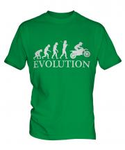 Motocross Evolution Mens T-Shirt