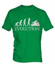 Motorcycle Racing Evolution Mens T-Shirt
