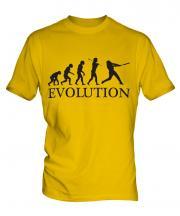 Baseball Evolution Mens T-Shirt
