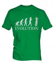 Golfer Evolution Mens T-Shirt