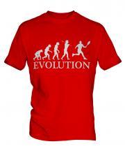 Tennis Evolution Mens T-Shirt