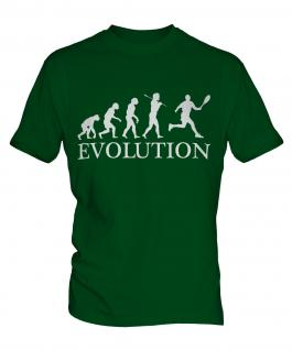 Tennis Evolution Mens T-Shirt