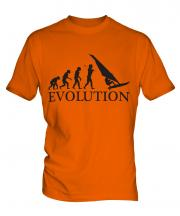 Windsurfer Evolution Mens T-Shirt