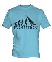 Windsurfer Evolution Mens T-Shirt