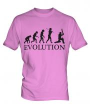 Cricketer Evolution Mens T-Shirt