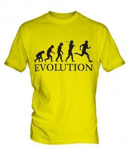 Runner Evolution Mens T-Shirt