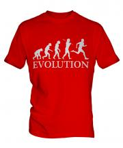 Runner Evolution Mens T-Shirt