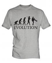 Baseball Pitcher Evolution Mens T-Shirt