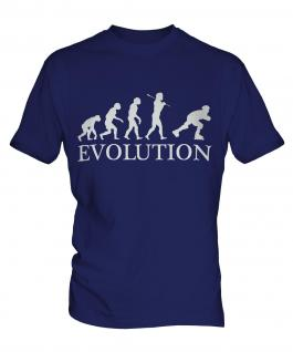Roller Blading Evolution Mens T-Shirt