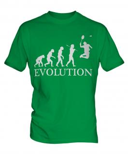 Badminton Evolution Mens T-Shirt