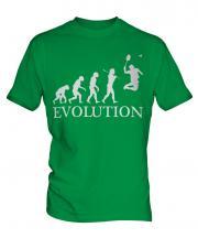 Badminton Evolution Mens T-Shirt