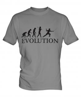 Fencing Evolution Mens T-Shirt