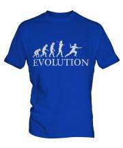 Fencing Evolution Mens T-Shirt
