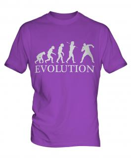 Shot Put Evolution Mens T-Shirt