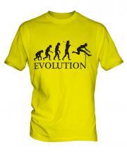 Hurdler Evolution Mens T-Shirt