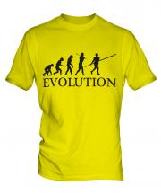 Pole Vault Evolution Mens T-Shirt