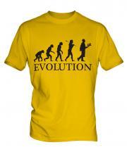 Waiter Evolution Mens T-Shirt