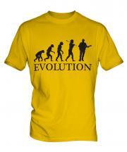 Guitarist Evolution Mens T-Shirt