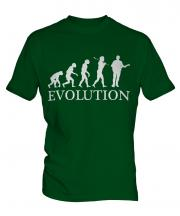 Guitarist Evolution Mens T-Shirt