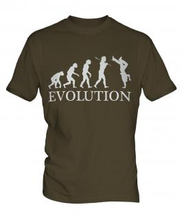 Break Dance Evolution Mens T-Shirt