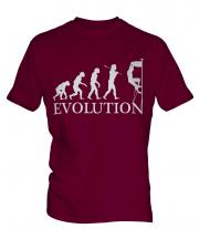 Rock Climbing Evolution Mens T-Shirt